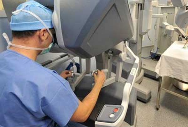 Robotic surgery learning curve?